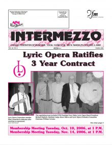 Intermezzo - 2006/October