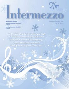 Intermezzo - 2008/November-December