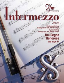 Intermezzo - 2009/March