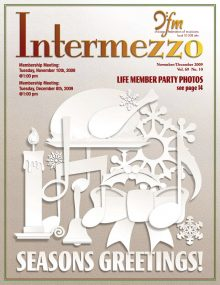 Intermezzo - 2009/November-December