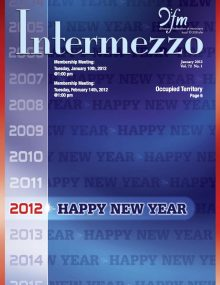 Intermezzo - 2012/January