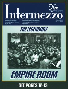 Intermezzo - 2012/August