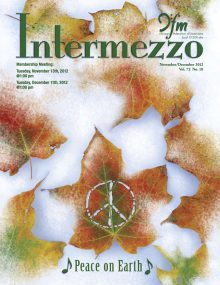 Intermezzo - 2012/November-December