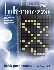 Intermezzo - 2013/April