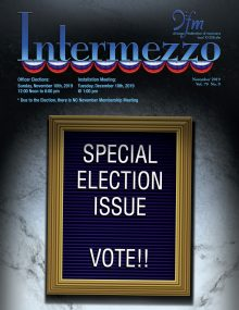 Intermezzo 2019 November Election Issue