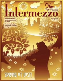 Intermezzo 2018 May/June