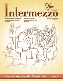Intermezzo 2018 September/October