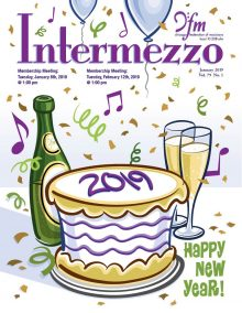 Intermezzo 2019 January