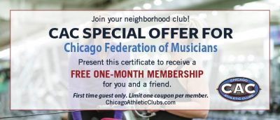 Cac 1 Month Certificate Chicago Federation Of Musicians1024 1 2